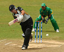Suzie Bates works one through the on side, New Zealand v South Africa, ICC Women's World Twenty20, Taunton, June 15, 2009