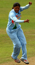 Rumeli Dhar celebrates another wicket, India v Sri Lanka, ICC Women's World Twenty20, Taunton, June 15, 2009