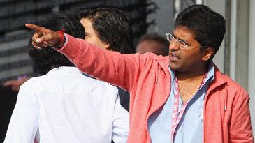 IPL commissioner Lalit Modi at Lord's