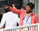 IPL commissioner Lalit Modi at Lord's, England v India, ICC World Twenty20 Super Eights, Lord's, June 14, 2009