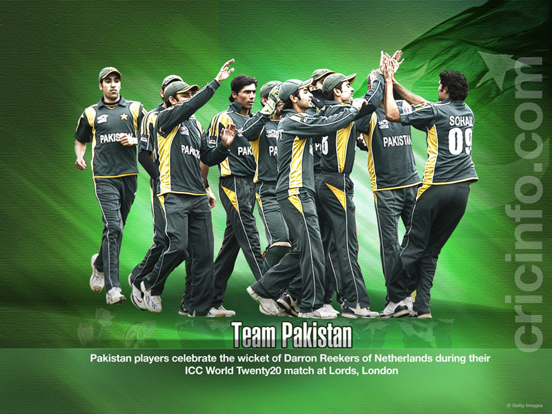 Team Pakistan Cricket Wallpapers Espncricinfocom