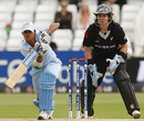 Amita Sharma managed a brave 24, India v New Zealand, 1st semi-final, ICC Women's World Twenty20, Trent Bridge, June 18, 2009