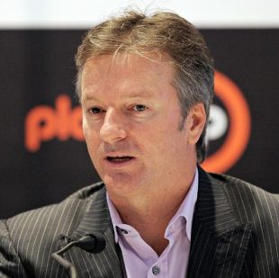 Steve Waugh at the launch of a foundation in his name, Delhi, June 19, 2008