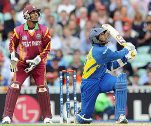 Tillakaratne Dilshan goes big and goes high, Sri Lanka v West Indies, ICC World Twenty20, 2nd semi-final, The Oval, June 19, 2009