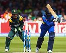 Isuru Udana is castled by Shahid Afridi, Pakistan v Sri Lanka, ICC World Twenty20 final, Lord's, June 21, 2009