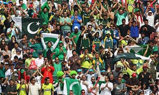 Fans cheer for Pakistan, Pakistan v Sri Lanka, ICC World Twenty20 final, Lord's, June 21, 2009