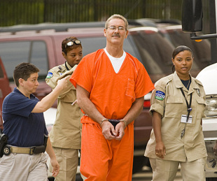 Allen Stanford arrives at court, in Houston, Texas, June 25, 2009