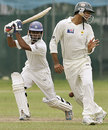 Gihan Rupasinghe plays a square drive, Sri Lanka Cricket XI v Pakistanis, 2nd day, Colts Cricket Club Ground, Colombo, June 30, 2009