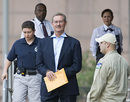 Allen Stanford leaves court, Houston, Texas, June 29, 2009