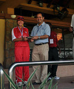 Godiva Li receives her Player of the Match award, HKG Women v. UAE Women, ACC Women's T20 Championships 2009
