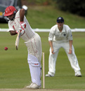 Sandeep Jyoti tucks one to leg, Scotland v Canada, ICC Intercontinental Cup, Aberdeen, July 4, 2009