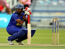 Faiz Fazal gears up to face the first ball, Middlesex v Rajasthan Royals, British Asian Cup, Lord's, July 6, 2009