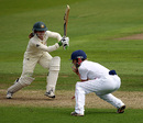 Jodie Fields on the front foot to defy England