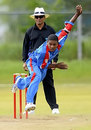 Greg Maybury in action, ICC Americas Under-19 Regional Qualifier, July 10, 2009
