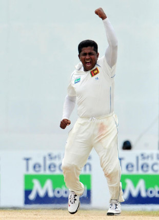 Rangana Herath was the pick of the bowlers again, Sri Lanka v Pakistan, 2nd Test, Colombo, 3rd day, July 14, 2009