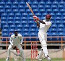 Omar Phillips pulls, West Indies v Bangladesh, 2nd Test, Grenada, 1st day, July 17, 2009