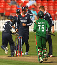 Adam Wheater whips off the bails to run out Noor Hossain, England U-19 v Bangladesh U-19, 1st ODI, Grace Road, July 18, 2009