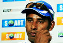 Chaminda Vaas at his retirement press conference