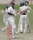 Ryan Hinds is dismissed for 2, West Indies v Bangladesh, 2nd Test, Grenada, 3rd day, July 19, 2009