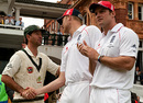Ricky Ponting shakes hands with Andrew Flintoff, England v Australia, 2nd Test, Lord's, 5th day, July 20, 2009