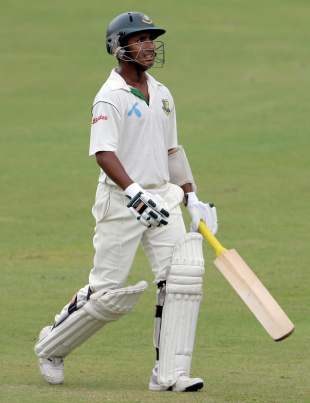 Mohammad Ashraful tries to comprehend another failure, West Indies v Bangladesh, 2nd Test, 4th day, Grenada, July 20, 2009