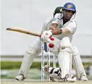 Malinda Warnapura goes for the sweep, Sri Lanka v Pakistan, 3rd Test, Colombo, 4th day, July 23, 2009