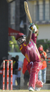 Travis Dowlin goes over the top, West Indies v Bangladesh, Only Twenty20 international, St Kitts, August 2, 2009