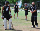 Saqlain Mushtaq gives New Zealand some spinning tips