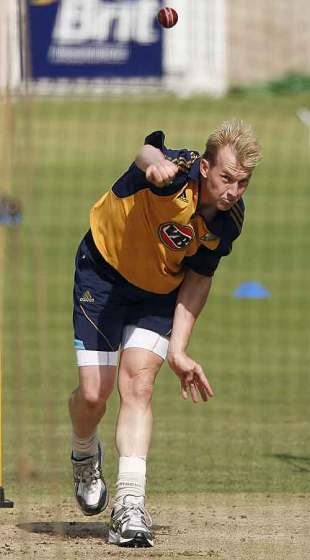 Brett Lee is waiting to see whether he will feature in the final Test, The Oval, August 18, 2009