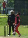 Khurram Chohan picked up 4 for 26, Canada v Kenya, 1st ODI, Toronto, August 19, 2009