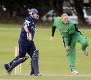 Regan West picked up for 4 for 26, Scotland v Ireland, 1st ODI, Aberdeen, August 22, 2009