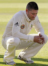 The pain of the Ashes defeat gets to Michael Clarke, England v Australia, 5th Test, The Oval, 4th day, August 23, 2009