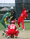 Mulewa Dharmichand in action for Singapore, Singapore v Guernsey, ICC World Cricket League Division Six, Singapore, August 29, 2009