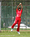 Riaz Hussien  takes a catch to dismiss Zaheer Ashiq, Singapore v Norway, ICC World Cricket League Division 6, Singapore, September 2, 2009