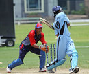 Taroesh Trivedi is stumped by Shahzad Ahmed, Bahrain v Botswana, ICC World Cricket League Division 6, Singapore, September 2, 2009