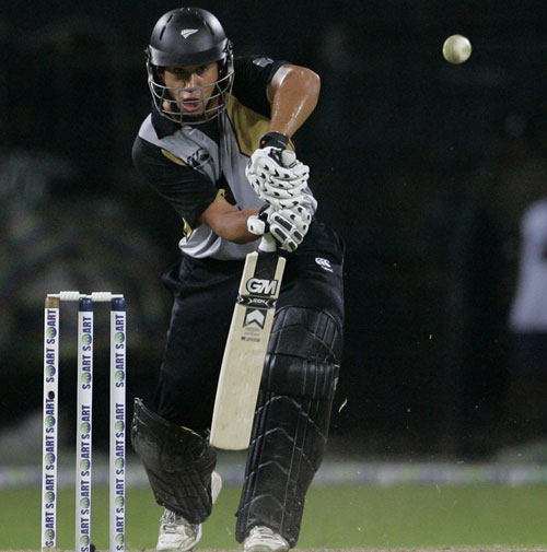 Ross Taylor scored 60 off 45 balls