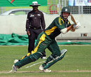 GH Smit plays through point, Botswana v Guernsey, ICC World Cricket League Division 6, Singapore, September 4, 2009