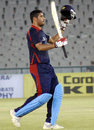 Chandan Madan's century made sure Air India Blue were rarely in trouble, Air India Blue v Tata Sports Club, BCCI Corporate Trophy, Mohali, September 6, 2009