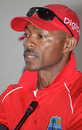 Keith Arthurton at a Digicel Cricket Clinic, Turks & Caicos Islands, September 10, 2009