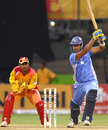 HT Sudhir Rao cuts loose, Shamanoor Davangere Diamonds v Mysore Maharaajas, KPL Cup, September 15, 2009