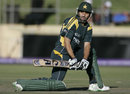 Misbah-ul-Haq made a steadying 72, Pakistan v Sri Lanka, Champions Trophy warm-up match, Benoni, September 18, 2009