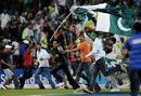 Pakistan fans invaded the field after their team's victory, India v Pakistan, Champions Trophy, Group A, Centurion, September 26, 2009