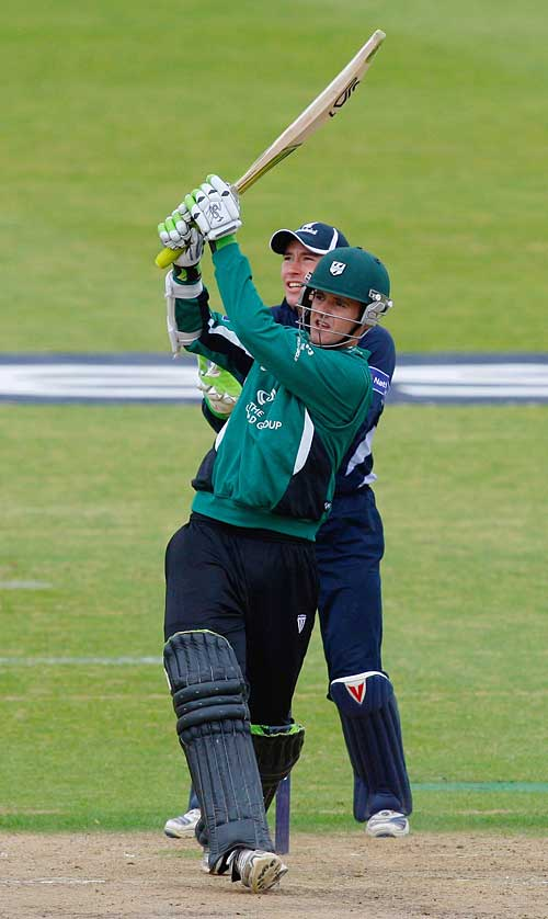 Steven Davies gave Worcestershire a rapid start...and was later put on England standby