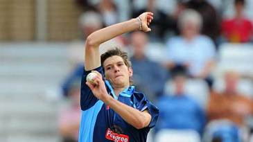 David Payne took three wickets as Nottinghamshire were skittled for 57