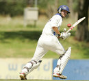 Andrew Puttick plays to leg, Cape Cobras v Highveld Lions, SuperSport Series, Paarl, 1st day, November 8, 2007