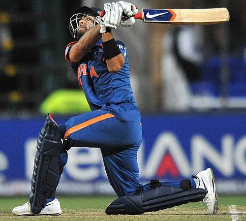 Virat Kohli on the attack | Photo | ICC Champions Trophy, 2009 | ESPNcricinfo.com