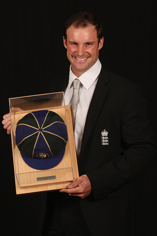 He would not be leading, but Andrew Strauss was picked as opener in the Test Team of the Year