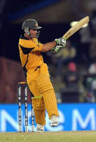 Ricky Ponting produced another elegant innings, Australia v England, 1st semi-final, Champions Trophy, Centurion Park, October 2, 2009