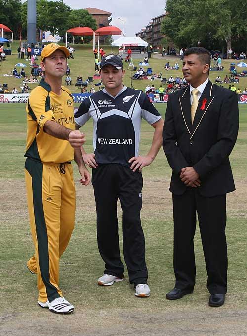 Australia V New Zealand ICC Champions Trophy Final Centurion