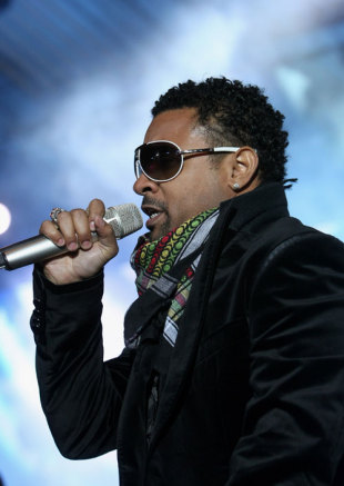 Reggae singer Shaggy performs in Cologne, Germany, June 6, 2009